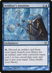 Artificer's Intuition, Magic: The Gathering, Fifth Dawn