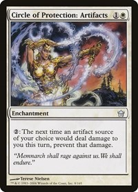 Circle of Protection: Artifacts, Magic: The Gathering, Fifth Dawn