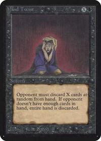 Mind Twist, Magic: The Gathering, Alpha Edition