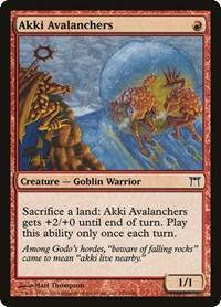 Akki Avalanchers, Magic, Champions of Kamigawa