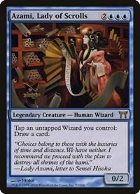 Azami, Lady of Scrolls, Magic: The Gathering, Champions of Kamigawa