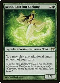 Azusa, Lost but Seeking, Magic: The Gathering, Champions of Kamigawa
