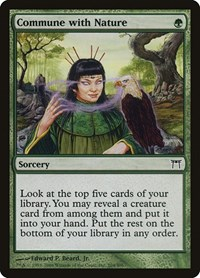 Commune with Nature, Magic: The Gathering, Champions of Kamigawa