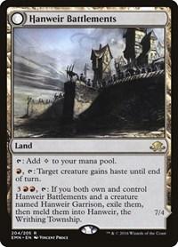 Hanweir Battlements, Magic: The Gathering, Eldritch Moon