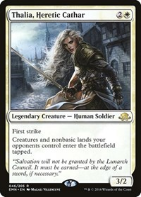 Thalia, Heretic Cathar, Magic: The Gathering, Eldritch Moon