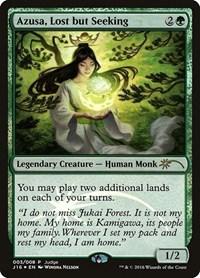 Azusa, Lost but Seeking, Magic: The Gathering, Judge Promos