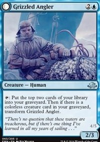 Grizzled Angler, Magic: The Gathering, Eldritch Moon