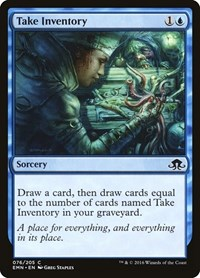 Take Inventory, Magic, Eldritch Moon