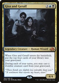 Gisa and Geralf, Magic: The Gathering, Eldritch Moon