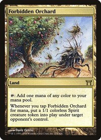 Forbidden Orchard, Magic: The Gathering, Champions of Kamigawa