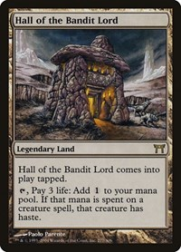 Hall of the Bandit Lord, Magic: The Gathering, Champions of Kamigawa