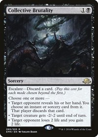Collective Brutality, Magic: The Gathering, Eldritch Moon