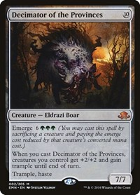 Decimator of the Provinces, Magic: The Gathering, Eldritch Moon