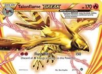 Talonflame BREAK, Pokemon, XY - Steam Siege