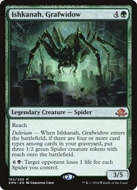 Ishkanah, Grafwidow (Foil)