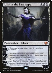 Liliana, the Last Hope (Foil)