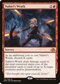 Nahiri's Wrath, Magic: The Gathering, Eldritch Moon
