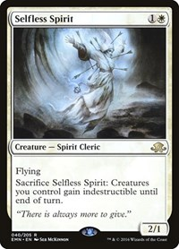 Selfless Spirit, Magic: The Gathering, Eldritch Moon