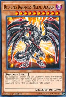 Red-Eyes Darkness Metal Dragon, YuGiOh, Structure Deck: Rise of the True Dragons