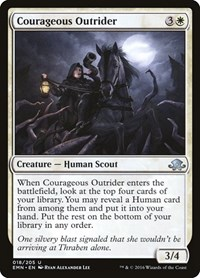 Courageous Outrider, Magic: The Gathering, Eldritch Moon