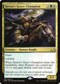 Heron's Grace Champion, Magic: The Gathering, Eldritch Moon