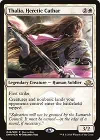 Thalia, Heretic Cathar, Magic: The Gathering, Buy-A-Box Promos