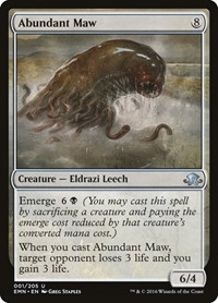 Abundant Maw, Magic: The Gathering, Eldritch Moon
