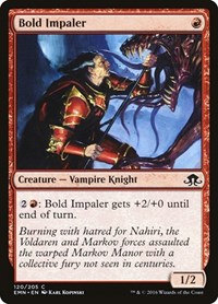 Bold Impaler, Magic: The Gathering, Eldritch Moon
