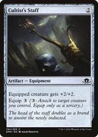 Cultist's Staff, Magic: The Gathering, Eldritch Moon