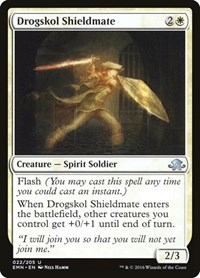 Drogskol Shieldmate, Magic, Eldritch Moon