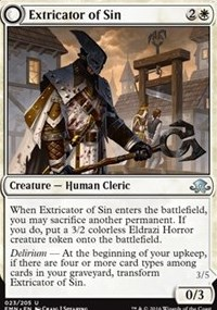 Extricator of Sin, Magic: The Gathering, Eldritch Moon