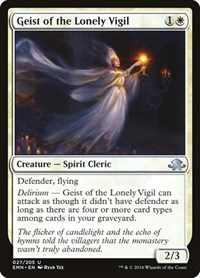 Geist of the Lonely Vigil, Magic: The Gathering, Eldritch Moon