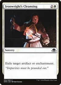 Ironwright's Cleansing, Magic: The Gathering, Eldritch Moon