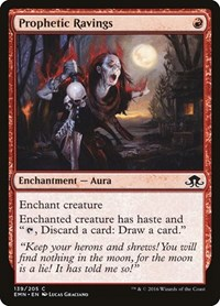 Prophetic Ravings, Magic: The Gathering, Eldritch Moon
