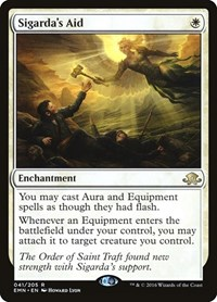 Sigarda's Aid, Magic: The Gathering, Eldritch Moon