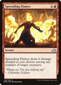 Spreading Flames, Magic: The Gathering, Eldritch Moon