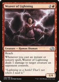 Weaver of Lightning, Magic, Eldritch Moon