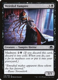 Weirded Vampire, Magic: The Gathering, Eldritch Moon