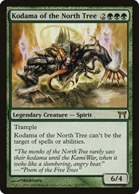Kodama of the North Tree, Magic: The Gathering, Champions of Kamigawa