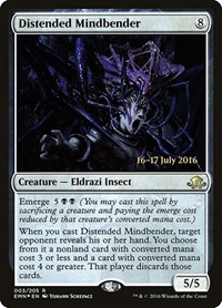Distended Mindbender, Magic: The Gathering, Prerelease Cards