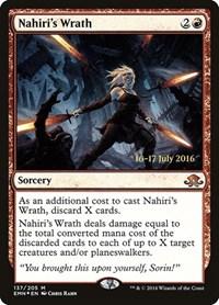 Nahiri's Wrath, Magic: The Gathering, Prerelease Cards