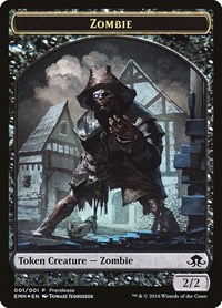 Zombie Token (Double-Sided) (Foil)