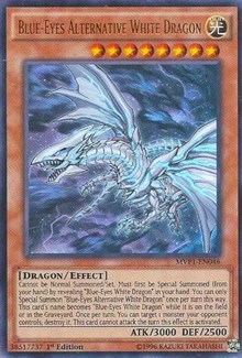 Blue-Eyes Alternative White Dragon, YuGiOh, The Dark Side of Dimensions Movie Pack