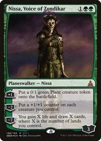 Nissa Voice of Zendikar x1 Magic the Gathering 1x Mystery Booster mtg card