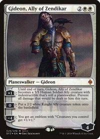 Gideon, Ally of Zendikar (SDCC 2016 Exclusive), Magic: The Gathering, Media Promos