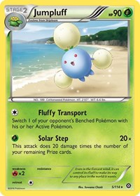 Jumpluff, Pokemon, XY - Steam Siege