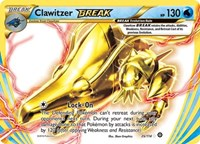 Clawitzer BREAK, Pokemon, XY - Steam Siege