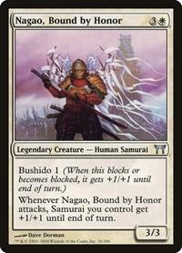 Nagao, Bound by Honor, Magic: The Gathering, Champions of Kamigawa