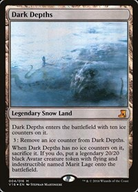 Dark Depths, Magic: The Gathering, From the Vault: Lore