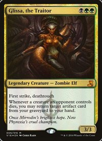 Glissa, the Traitor, Magic: The Gathering, From the Vault: Lore